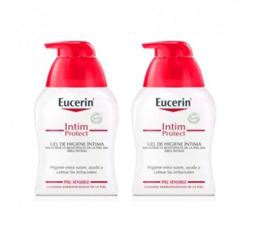 Eucerin higiene intima 2x250ml 50% 2ª un