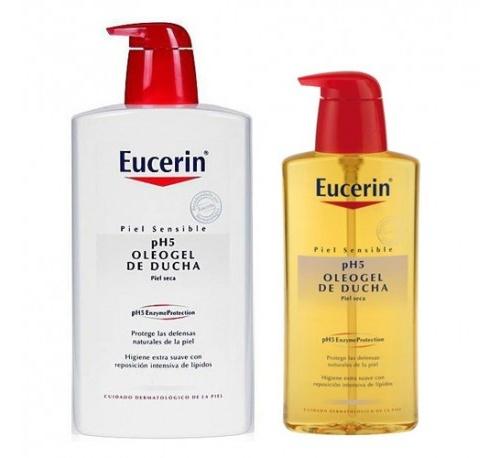 Eucerin ph5 oleogel ducha 1 l + 400 ml