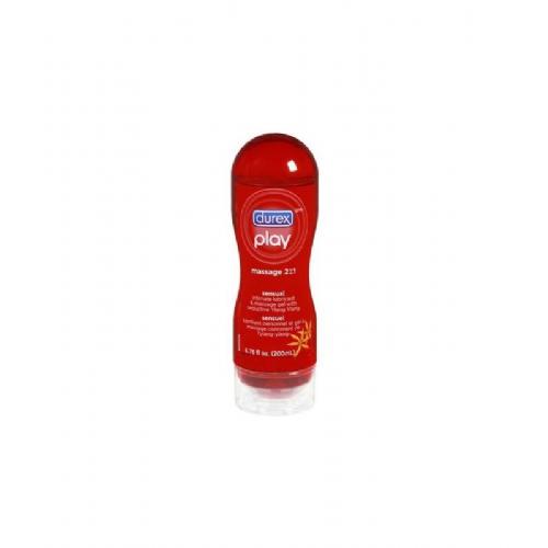 Durex play gel sensual massage  2 en 1 100 ml