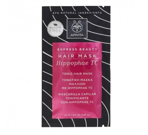 Apivita hair mask capilar tonificante con hippop