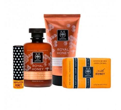 Apivita honey i love you gel ducha-crema corpora