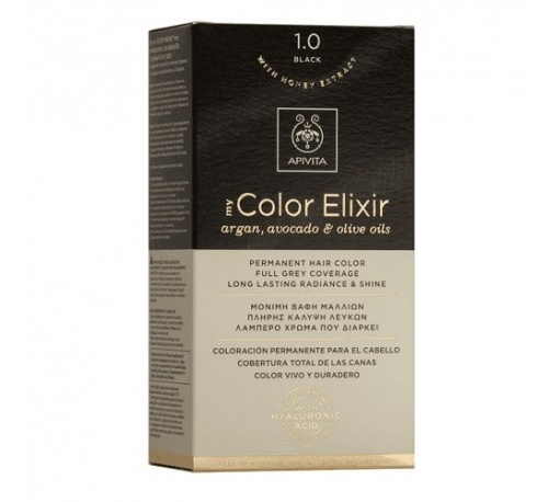 Apivita color elixir 1.0 black