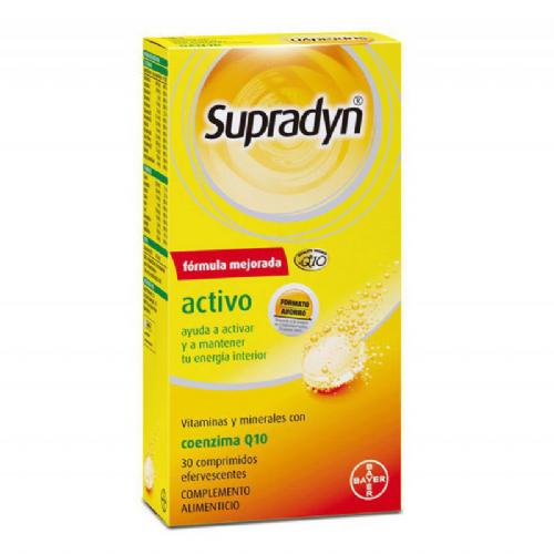 Supradyn activo (30 comprimidos efervescentes)