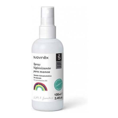 Suavinex spray higinizante de manos solucion hidroalcoholica (100 ml)