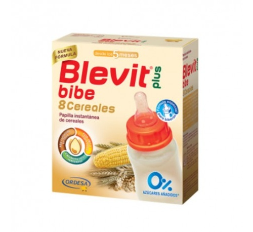 Blevit plus 8 cereales para biberon (600 g)
