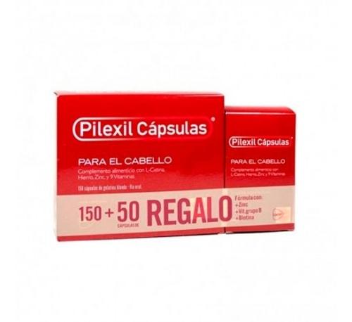 Pilexil complemento nutricional para cabello (150 capsulas)