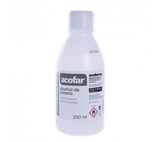 Acofar alcohol de romero (250 ml)