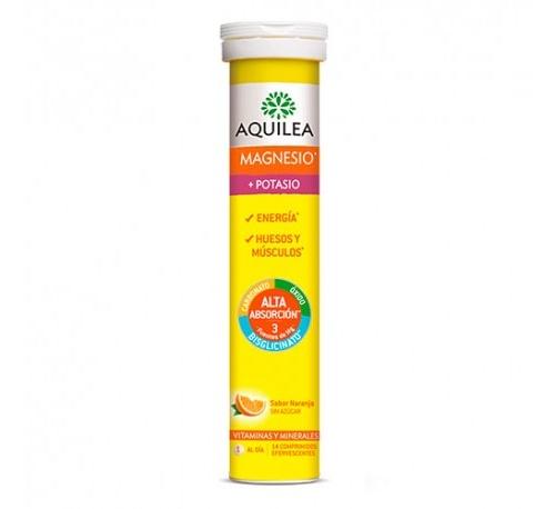 Aquilea magnesio+ potasio comp efervescente (14 comprimidos efervescentes)