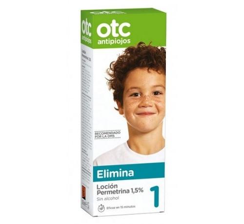 Otc antipiojos permetrina 1,5% locion - antipiojos (125 ml)