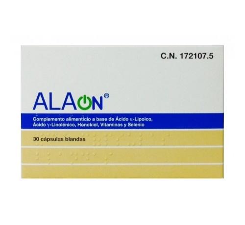 Alaon (30 capsulas blandas)
