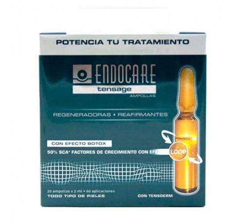 Endocare tensage ampollas (20 ampollas 2 ml)