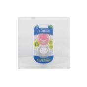 Chupete silicona - dr brown´s advantage reversible (2 unidades 0-6 meses talla 1 colores surtidos)