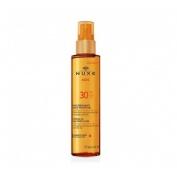 Nuxe sun - aceite bronceador para rostro y cuerp