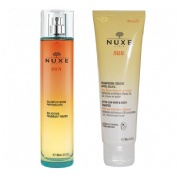 Nuxe sun cofre agua perfumada + champu after sun