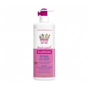 Petit junior gel de ducha cuerpo y cabello - klorane (500 ml frambuesa)