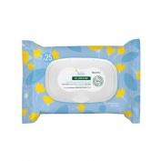 Klorane bebe toallitas limpiadoras suaves (25 toallitas)