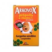 Arkovox propolis + vitamina c (24 comprimidos sabor menta)