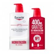 Eucerin locion sensi 1000+ecopack 400