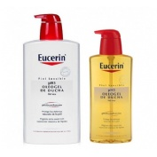 Eucerin ph5 oleogel ducha 1 l + 400 ml
