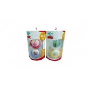 Chupete latex - coleccion nuk (t-1 blister 1 u)