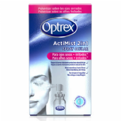 Optrex actimist 2 en 1 spray ocular - ojos secos e irritados (10 ml)