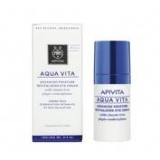 Apivita aqua vita hidratante ojos con agnocasto&