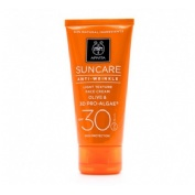 Apivita suncare solar facial antiarrugas ligera