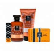 Apivita honey i love you gel ducha-crema corpora