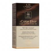 Apivita color elixir 5.35 light brown gold mahog