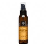 Apivita aceite capilar nutritivo y reparador con aceite de argan y oliva