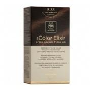 Apivita color elixir 5.35 light brown gold mahog