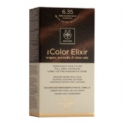 Apivita color elixir 6.35 dark blonde gold mahog