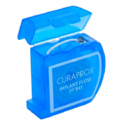 Curaprox seda df 845 super floss implant and bra