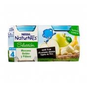 Nestle naturnes seleccion manzana golden platano (200 g 2 u)