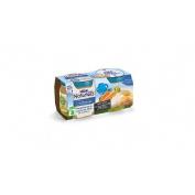 Nestle naturnes seleccion - verduritas de la huerta con filete de merluza (200 g 2 tarrinas)