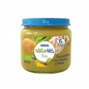 Naturnes bio guisantes con patata y pollo (200 g)
