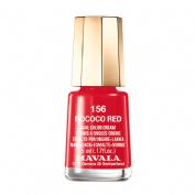 Mavala esmalte color 156 (rococo red)