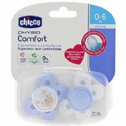 Chupete silicona - chicco physio comfort (niño 0-6 m 2 u)