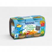 Nestle platano pera manzana naranja (130 g 2 u)