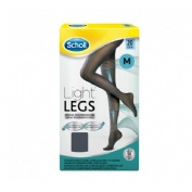 Medias e.t. cint comp ligera 20 den - scholl light legs (negro t - m)