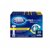 Optrex colirio doble accion para picor de ojos (monodosis 20 u x 0.5 ml)