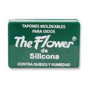 Tapones oidos silicona - the flower (moldeables)