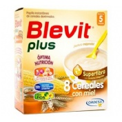 Blevit plus superfibra 8 cereales y miel (600 g)