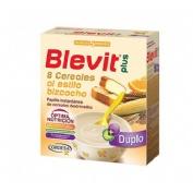 Blevit plus duplo 8 cereales bizcocho y naranja (600 g)