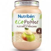 Nutriben eco seleccion platano y manzana (potito junior 200 g)
