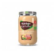 Nutriben ecopotitos verduras de la huerta - con pavo ecologico (235 g)