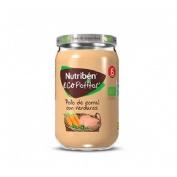 Nutriben ecopotitos verduras de la huerta - con pollo del corral (235 g)
