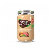 Nutriben ecopotitos verduras de la huerta - con ternera ecologica (235 g)