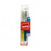 Cepillo dental adulto - lacer (suave duplo 2 u)