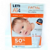 Leti at 4 crema regeneradora facial pack 2 50 ml